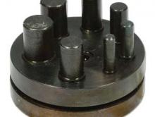 Набор для вырубки кругов разного диаметра