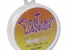Elastoma-эластичная нить для создания украшений ПРЕМИУМ КЛАССА - похожа визуально на прозрачную леску,