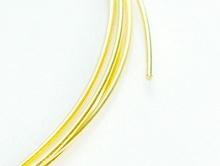 Проволока из серебра 925 (Sterling Silver) позолоченная (покрытие золотом 24 kr) для ювелирных украшений Handmade.