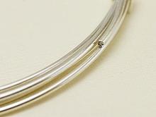 Проволока из серебра, мягкая серебряная для изготовления ювелирных украшений ручной работы,