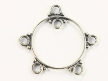 Подвеска-основа на швензы для изготовления серег,  серебро 925