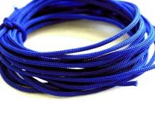 Нейлоновый шнур. цвет синий 1 мм., состав 100% нейлон,