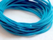 Шнур нейлоновый 1 мм. голубой. За 2,5 м.