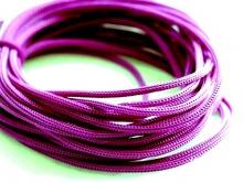Нейлоновый шнур. цвет фиолетовый 1 мм., состав 100% нейлон