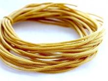 Нейлоновый шнур 0.8 мм. (100% нейлон). Цвет-горчичный.