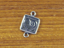 Коннектор серебряный