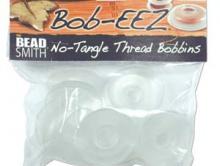 Набор из 8-ми силиконовых катушек диаметром 4.7 см (47 мм) для плетения шнуров Kumihimo,