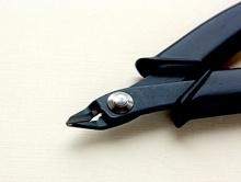 кусачки предназначены для работы с тонкой проволокой