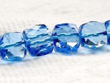 Шпинель голубая, кубик