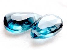 топаз голубой, ф. лепесток