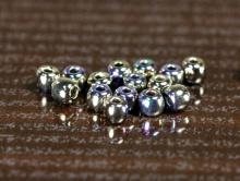 Чешский бисер, размер-2 мм., цвет-никель с переливом, изготовлено из чешского стекла с никелевым покрытием,