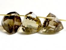 нат. раух топаз (дымчатый кварц) ручной огранки