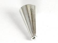 Конус серебряный для создания украшений ручной работы Handmade, материал-сплав из стерлингового серебра (92.5 % серебра)