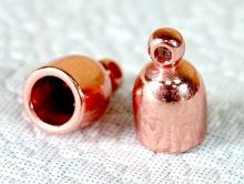 Концевик на 6-ти мм. шнур из плетеных шнуров