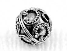 Бусина серебро 925, 1 штука