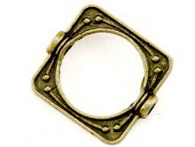 рамка металическая для бусины до 10 мм.