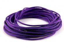 Нейлоновый шнур 0.9 мм. фиолетовый , состав 100% нейлон, цена указана за отрезок кратный  1 метру.
