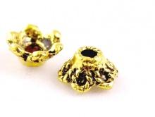 Шапочка для бусин цвет золото