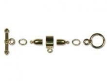 Набор для шнуров 3-х мм. цв. золото