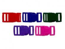 BUCKLE Набор пластиковых застежек для браслетов из различных шнуров: материал-пластик, размер: длина/ширина/толщина/отверстие-43х21.5х7 мм. отверстие 15х3 мм..