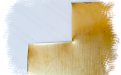 края среза при вырезании из листа латуни 0.5 мм.