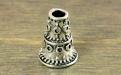 Конус серебряный для изготовления украшений ручной работы. Размер-9.5х7 мм