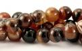бусины для рукоделия из натурального камня агат