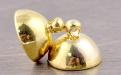 Магнитный замочек цвет: жёлтое золото, для изготовления бижутерии, тяжелых бус. цена за 1 шт.