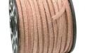 Замшевый шнур 3х1.8 мм, цвет светло-коричневый.