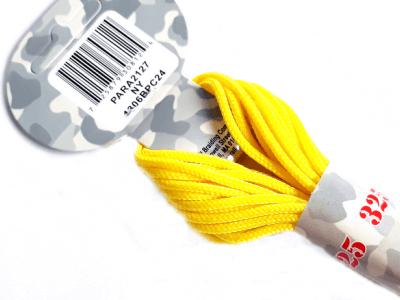 Паракорд, шнур PARA Cord 325, цвет жёлтый Neon Yellow, толщина 3 мм., длина 6,4 метра (на 3 стандартных браслета)