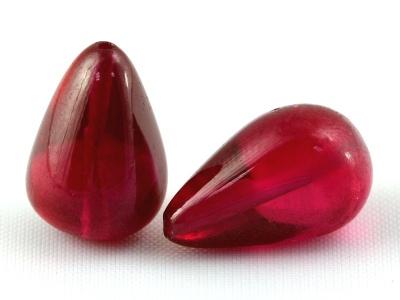 Бриолет гладкой шпинели красной (благородной)