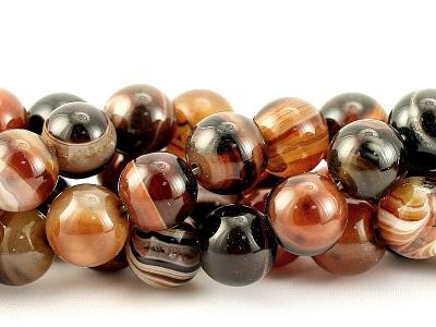 бусины камень агат для изготовления украшений: браслетов, бус, колье
