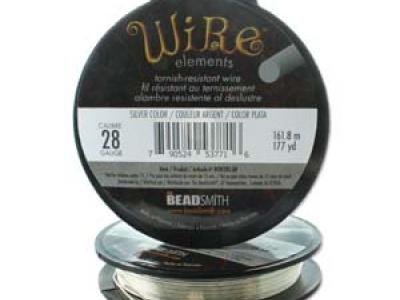Проволока 0.3 мм. средней жёсткости Craft Wire Tarnish resistante для рукоделия и творческих работ,