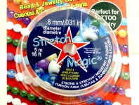 STRETCH MAGIC CORD-эластичная нить-резинка для создания браслетов. Резинка силиконовая-