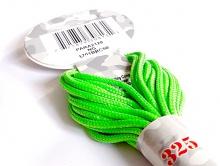 Паракорд, шнур нейлоновый Para Cord 325 Neon Green цвет ярко-зеленый, толщина 3 мм., длина 6,4 метра