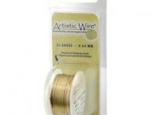 Товар-проволока для творческих работ Artistic Wire. Размер диаметра-0.40 мм.