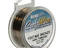 Проволока Craft Wire цв. винт. бронза 0.81 мм