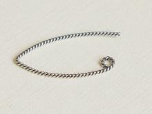 Швензы серебряные витые, размер –26х13х0.9 мм., материал-сплав из серебра 925 пробы, цена за  – 2 шт.(1пара).