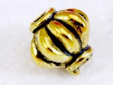 Бусина, цвет золото