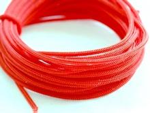 Нейлоновый шнур 1 мм. красный, состав 100% нейлон,
