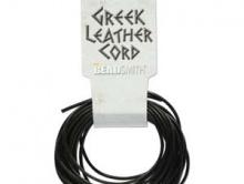 Шнур кожаный 2 мм. круглый, класса премиум , длина-5 метров. Цвет черный, отличного качества.