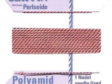 Нить GRIFFIN нейлоновая с иглой для нанизывания жемчуга
