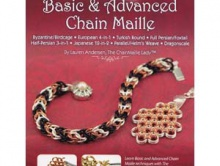 Книга-буклет, это руководство по плетению кольчужных цепей базовых и продвинутых