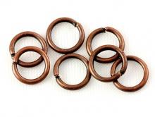 Колечко соединительное открытое Размер–7,2х1 мм. материал-сплав, цвет-античная медь (