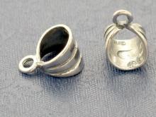 Бэйл серебряный 12х8 мм.