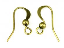 Швензы цв. античная бронза 14х13 мм.