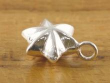 """Подвеска серебряная """"Звездочка"""", атериал-серебро 925 пробы (92.5% Sterling Silver). Размер д/ш/т–с колечком 11.5х8 мм."""