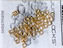 кольцо голд филд откытое, 4 мм