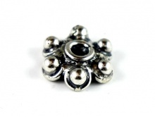 Шапочка для бусин серебряная фурнитура для украшений
