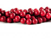 Бусины из натурального коралла красного. Цвет-красивый красный-кровавый (насыщенный). Размер-диаметр шарика 5 +-0,2 мм.